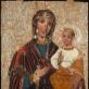Paberžės Dievo Motina. Vaizdas prieš restauraciją