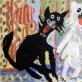 """Vilius Čeponis, """"Katinai"""". 7 m. Dusetų Kazio Būgos vid. mokykla (1984 m.)"""