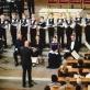 """""""Pasijos pagal Matą"""", choras """"Ąžuoliukas"""" ir solistai. J. Šopos nuotr."""