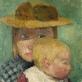 """Paula Modersohn-Becker, """"Saulėtas vaikas"""" (1903)"""