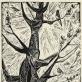 """Elena Jakutytė. """"Pavasaris"""". 1964 m. Iš Nacionalinio M.K. Čiurlionio dailės muziejaus archyvo"""