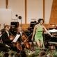 Pianistė Yuja Wang ir Mario Jansono orkestras. Organizatorių nuotr.