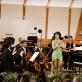 Pianistė Yuja Wang, dirigentas John Eliot Gardiner ir Mario Jansono orkestras. Organizatorių nuotr.