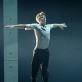 """Jeronimas Krivickas (Jozefas K.) balete """"Procesas"""". M. Aleksos nuotr."""