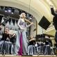 Modestas Pitrėnas, Rusnė Mataitytė ir Lietuvos nacionalinis simfoninis orkestras. D. Matvejevo nuotr.