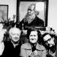 R. Rimantienė su pubroliu V. Landsbergiu (dešinėje) ir dėde V. Landsbergiu Žemkalniu (kairėje), 1983 m. (Asm. archyvo nuotr.)