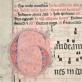 Fragmentas iš Lietuvos mokslų akademijos Vrublevskių bibliotekoje saugomo XIV a. grigališkojo rankraščio, priklausiusio bernardinams.