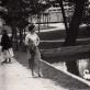 R. Tamošaitienė apie 1954 m. D. Tamošaitytės asmeninio archyvo nuotr.