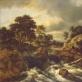 Jacob van Ruisdael (1628/1629–1682), Krioklys Norvegijoje, drobė, aliejus, 108 × 142,5 cm, 7–8 XVII a. dešimtmetis, Valstybinis Ermitažo muziejus