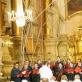 """""""Schola Gregoriana Vilnensis"""" Šv. Teresės bažnyčioje, dirigentas Michał Sławecki, 2020 m. G. Pranckūno nuotr."""