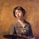 Sabine Lepsius, autoportretas. 1885 m. Berlyno Nacionalinis muziejus. J.P. Anders nuotr.