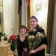 Saulė Kondrotaitė ir Inga Vyšniauskaitė. Nuotrauka iš asmeninio archyvo