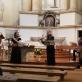 Senosios muzikos mokyklėlės priristatymo koncertas Vilniaus Išganytojo (joanitų) bažnyčioje. Nuotrauka iš asmeninio archyvo