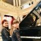 Sėkmingai augantis fortepijoninis duetas