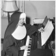 Sesuo Bernarda-Marija Venskutė.  Nuotrauka iš J. Žilevičiaus-J. Kreivėno lietuviškos muzikos archyvo