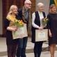 Vyriausybės premijų laureatai: iš kairės Snieguolė Dikčiūtė, Liutauras Degėsys, Laima Kreivytė, Lijana Ruokytė-Johnson. Nuotrauka iš asmeninio archyvo