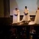 Scena iš operos: solistai ir orkestras. V. Abramausko nuotr.