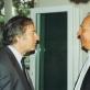 Saulius Sondeckis ir Alfredas Schnittke. Nuotrauka iš Silvijos Sondeckienės asmeninio archyvo