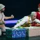"""Scena iš spektaklio """"Manai batai buvo du"""". """"Stage on"""" nuotr."""