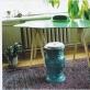 """""""Butas'99"""". Audrius Novickas. Stalas ir kėdė 1999. Nuotrauka iš menininko asmeninio archyvo"""