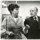 Petras Stauskas su Raisa Gorbočiova prie M.K. Čiurlionio paveikslų 1980 07 14. A. Žukausko nuotr. A. Stauskienės archyvas