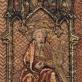 Šv. Andriejus. Gotikinės arnoto kolonos fragmentas. Švenčionėlių bažnycia