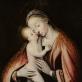 """Nežinomas autorius, """"Švč. Mergelė Marija su Kūdikėliu Jėzumi"""". XVI a."""