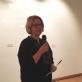 Sveikinimo žodį taria Lietuvos nacionalinio muziejaus direktorė Rūta Kačkutė