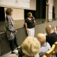 Thomo Manno kultūros centro kuratoriumo pirmininkė Ruth Leiserowitz
