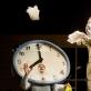 """Scena iš spektaklio """"Tiktaktika"""". D. Matvejevo nuotr."""