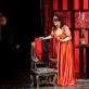 """Vladas Bagdonas, Inesa Linaburgytė, Samsonas Izjumovas operoje """"Toska"""". M. Aleksos nuotr."""
