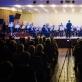 """Orkestras """"Trimitas"""" ir dirigentas Giedrius Vaznys. D. Matvejevo nuotr."""