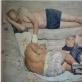 "Ievgen Petrov, ""Vilkai"". 2014 m. Galerija ""TSEKH"". Geriausia ""Art Vilnius'15"" užsienio galerija."