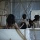 """Scena iš spektaklio """"Žmogiškas žmogiškų būtybių panaudojimas"""". Luca Del Pia nuotr."""