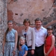 Vaida Striaupaitė-Beinarienė po koncerto su šeima. S. Nemeikaitės nuotr.