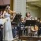 Dalia Kuznecovaitė, Elena Daunytė, Adrija Čepaitė ir Lietuvos kamerinis orkestras. D. Matvejevo nuotr.