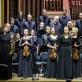 """Lietuvos kamerinis orkestras, choras """"Jauna muzika"""", dir. Adrija Čepaitė. D. Matvejevo nuotr."""