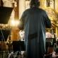 Vilniaus festivalio koncerto akimirka. Atliekamas Alfredo Schnittke's kūrinys. D. Matvejevo nuotr.