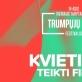 Vilniaus tarptautinis trumpųjų filmų festivalis kviečia teikti filmus