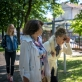 Kviečiame pasivaikščioti po Istorinės Prezidentūros sodelį ir pasiklausyti muziejaus istorikų pasakojimų