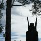 Viktorija Jurgilė. Stanislovo Kuzmos skulptūros fragmentas. Naujieji Valkininkai
