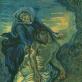 """Vincent van Gogh, """"Pieta (pagal Delacroix)"""". 1889 m."""