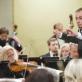 Vladimiras Lande ir Lietuvos nacionalinis simfoninis orkestras. D. Matvejevo nuotr.