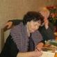Knygos autorė muzikologė Jūratė Vyliūtė pasirašo autografą. Nuotr. iš asmeninio arch.