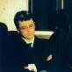 """Eglė Gabrėnaitė (Ranevskaja) ir Vytautas Šapranauskas (Petia Trofimovas) spektaklyje """"Vyšnių sodas"""". Nuotrauka iš LNDT archyvo"""
