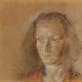 Vytautas Kasiulis. Žmonos Bronės portretas. 1941 m. Kita paveikslo pusė. LNDM