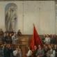 Vytautas Mackevičius. Lietuvių delegacija Kremliuje. 1940 m. Drobė, aliejus. 300x224. NČDM, Mt-1943. R. Kisielis nuotr.