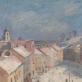 """Vytautas Mackevičius, """"Vilnius. Didžioji gatvė"""".1942 m. Fragmentas"""