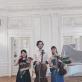 """Fortepijoninis trio """"Xylos"""" Užutrakyje. M. Pranskutės nuotr."""