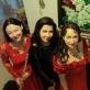 Viktorija Zabrodaitė, Nijolė Baranauskaitė ir Julija Stupnianek-Kalėdienė. LMRF nuotr.